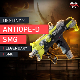 Destiny 2 - Antiope-D Legendary Submachine Gun Legendere Maschinenpistole