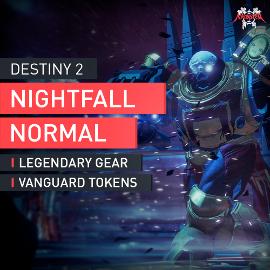 Destiny 2 Dämmerung Strike Mission auf Normal Waffenhändler Nightfall Accplay