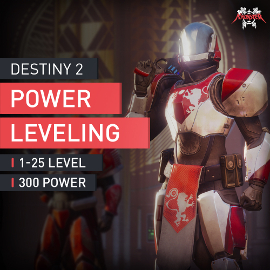 Destiny 2 1-20 Powerleveling Level Boost with Rare Legendary Exotic Gear accplay