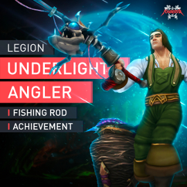 Artefaktangel Angelerfolg Dicke Fische Legion Fishing Artifact Underlight Angler