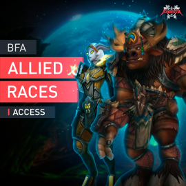 WoW BFA Allied Races Access Unlocking Mount Reputation Feats of Strength Boost