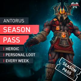 Season Pass Antorus the Burning Throne Heroic HC Personal Loot WoW (EU Servers)