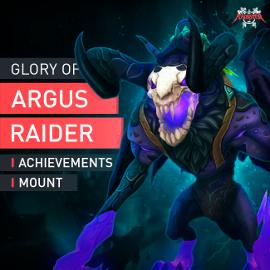 Antorus Mount Antoran Gloomhound Glory of the Argus Raider Dungeon Reittier WoW