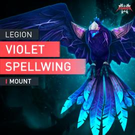 WoW Mount Violette Zauberschwinge Argus HEROIC Antorus Last Boss Kill Raid EU