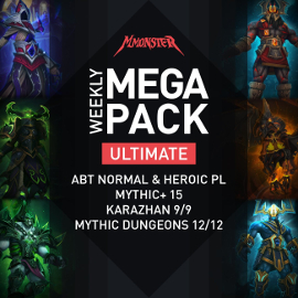Weekly ULTIMATE MEGA Pack Raids Dungeons Mythic Plus WoW Loot Gear