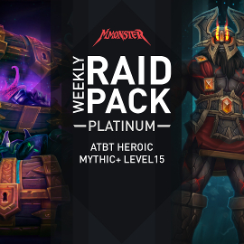 Weekly Raid Pack Mythic+ Plus Level 15 Chest Run Antorus Heroic HC WoW EU Server