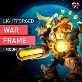 WoW Lichtgeschmiedete Kriegspanzerung Reittier Legion Shadows Warframe Mount