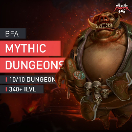 Mythic Dungeons Boost Run