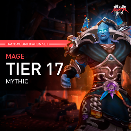 Mage Tier T17 Look Full Set Mythic Transmogrification Set 7 Items Boost WoW
