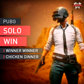 PUBG Solo Mode Win Boosting Boost Winner Winner Chicken Dinner Accplay [PC]
